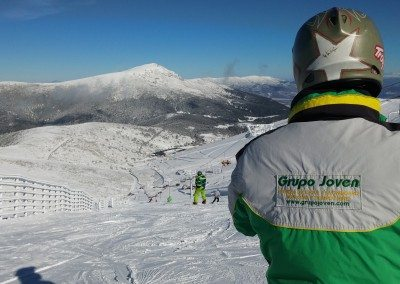 Club de esquí en Madrid Grupo Joven