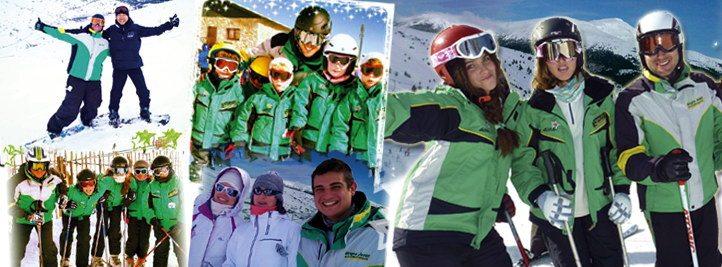 Cursos de esquí en Madrid y Cursos de snowboard en Madrid | incorpórate a los sábados y domingos de enero, febrero y marzo 2018
