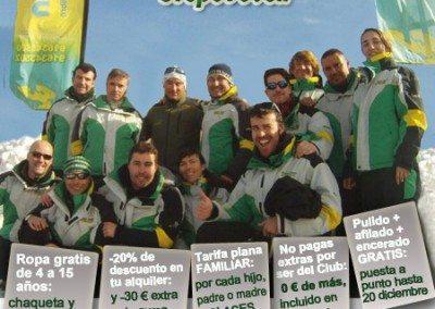 Club de esquí en Madrid | Club de snowboard en Madrid | niños jóvenes adultos Grupo Joven