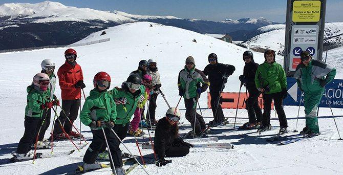 Viajes de esquí organizados