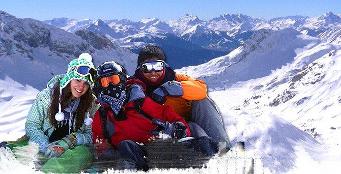 Viajes de esquí por libre