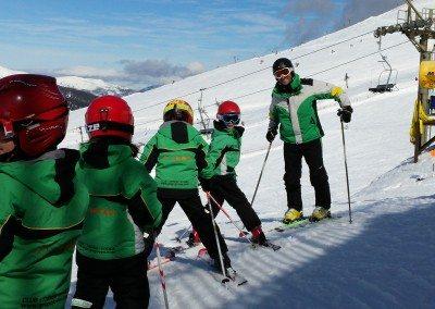 Cursos de esquí para niños en Madrid