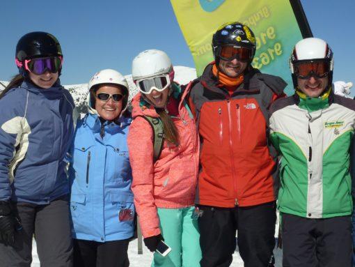 Club de esquí en Madrid para jóvenes adultos