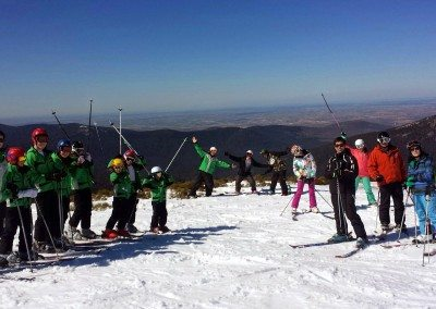Club de esquí en Madrid para niños jóvenes y adultos