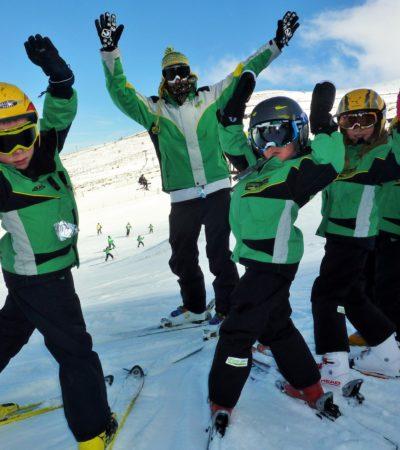 Club de esquí en Madrid niños