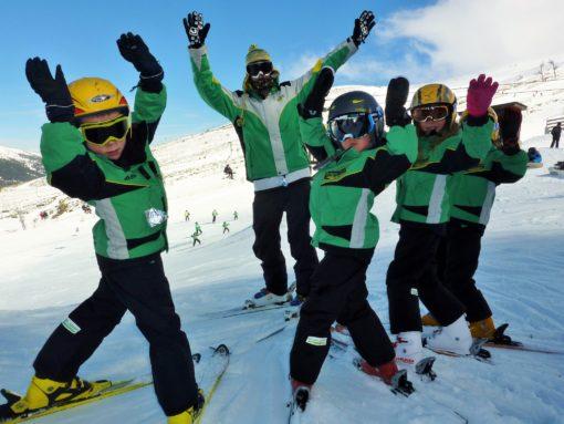 Club de Esquí en Madrid para niños