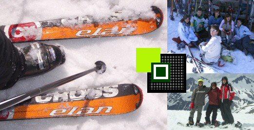 Alquiler de esquí y snowboard Grupo Joven