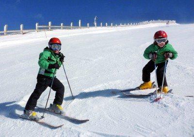 Cursos de esquí para niños