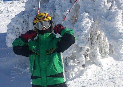 Clases de esquí en Valdesquí para niños curso perfeccionamiento