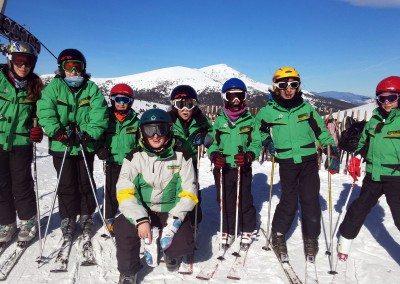 Cursos de esquí para niños | Club de esquí en Madrid | Grupo Joven