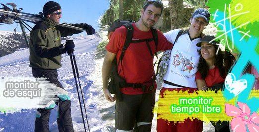 Cursos de monitor de esquí | Escuela Club Grupo Joven Madrid