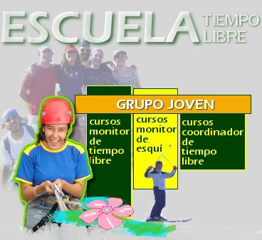 Escuela de Tiempo Libre | Cursos de monitor | Grupo Joven Madrid