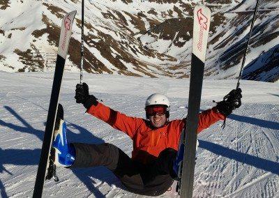 Viaje de esquí barato oferta con clases Club Grupo Joven