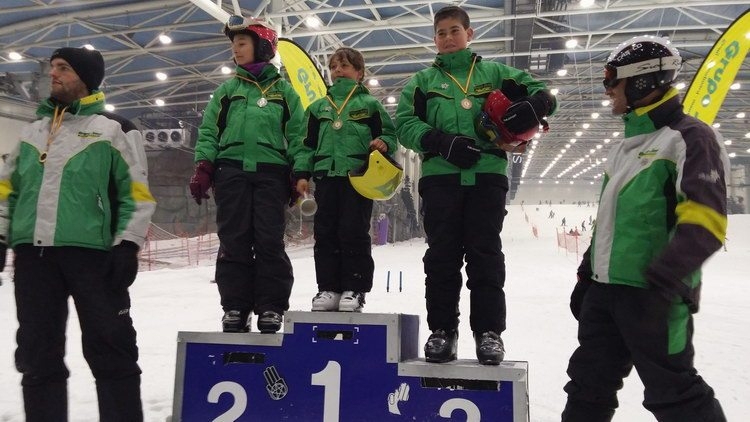 Slalom en Xanadú entrega de medallas | Grupo Joven