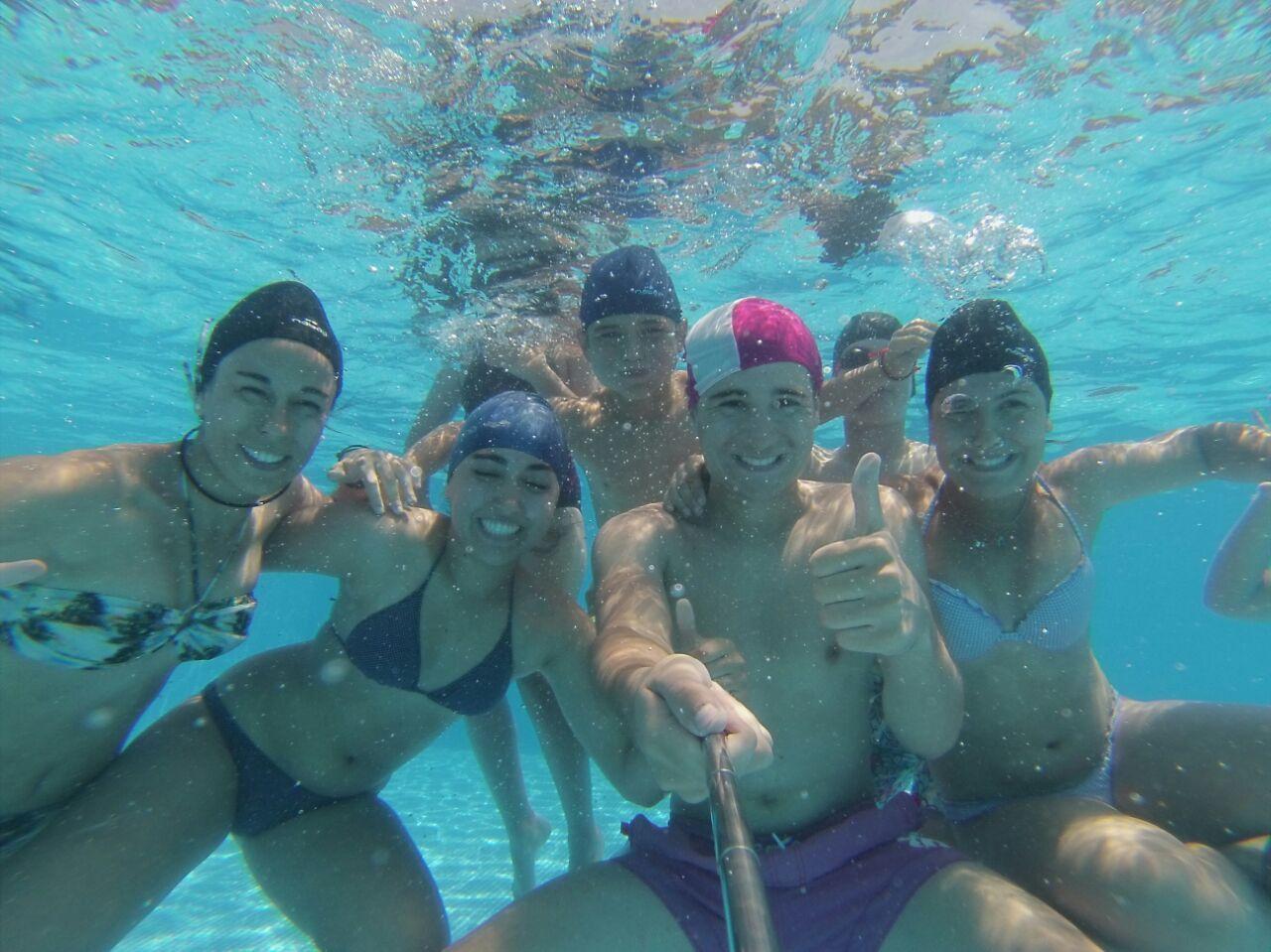 Campamentos de Verano en España para niños jóvenes adolescentes Multiaventura con Piscina