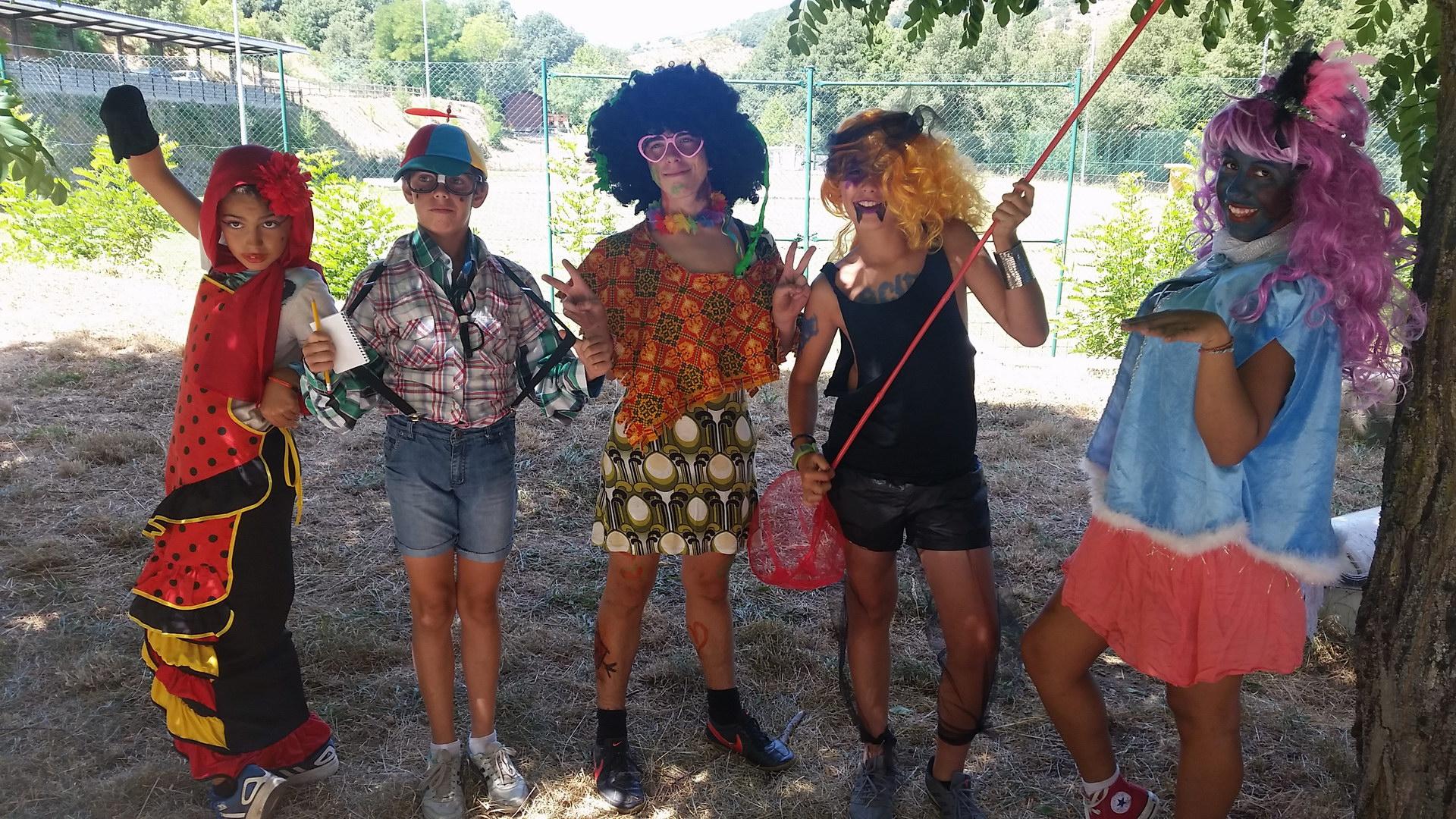 Campamentos de Verano en España para niños jóvenes adolescentes Disfraces