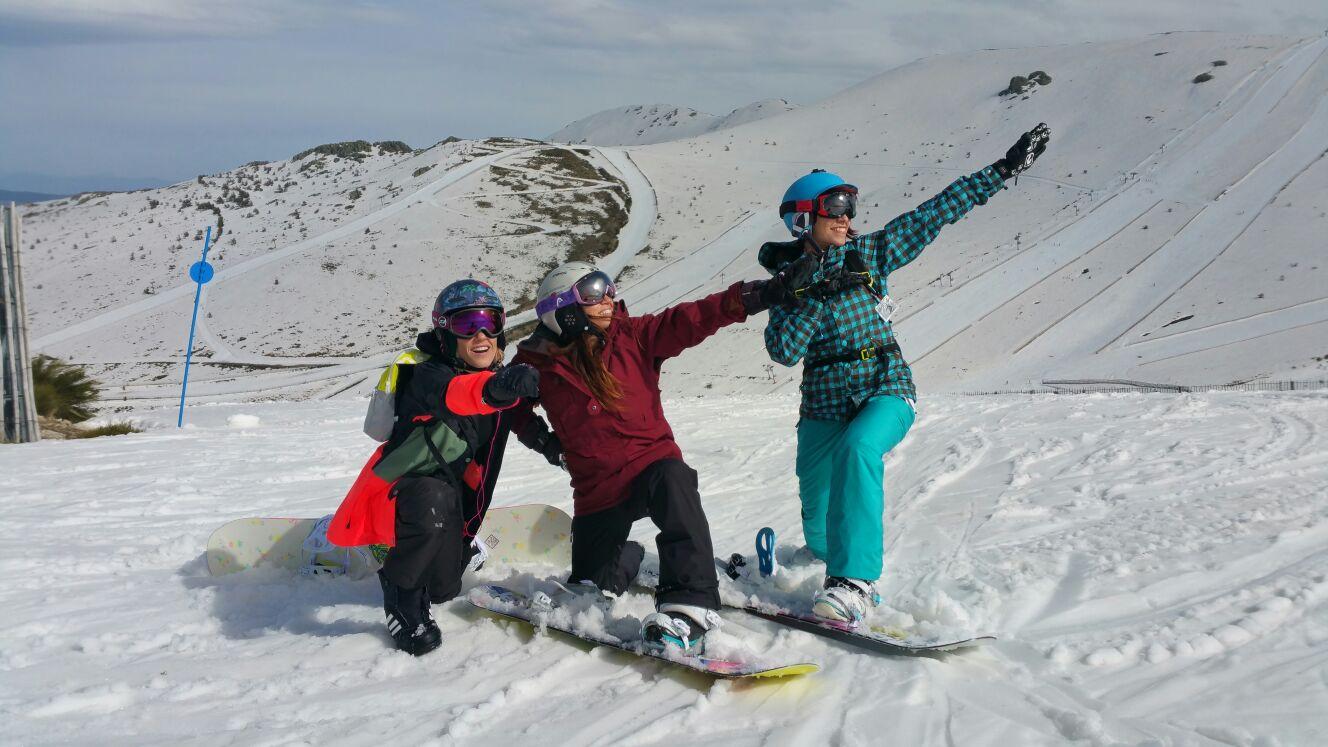 Fotos Grupo Joven en Valdesquí