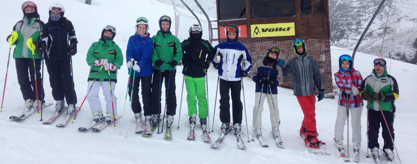 Viaje de esquí a Astún