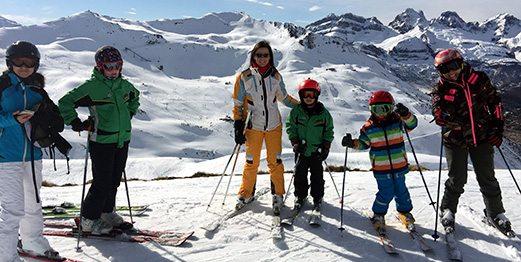 Viaje de esquí a Astún Semana Reyes