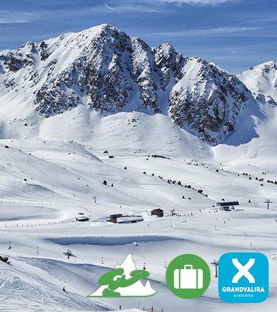 Viajes de esquí a Grand Valira ski snowboard Grupo Joven
