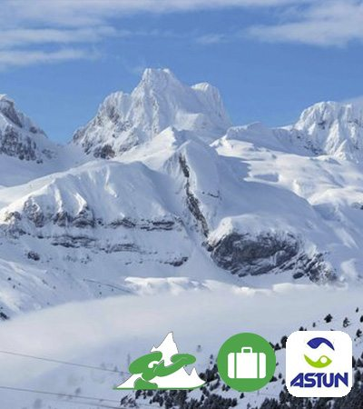 Viajes de esquí a Astún Ofertas ski snowboard Grupo Joven