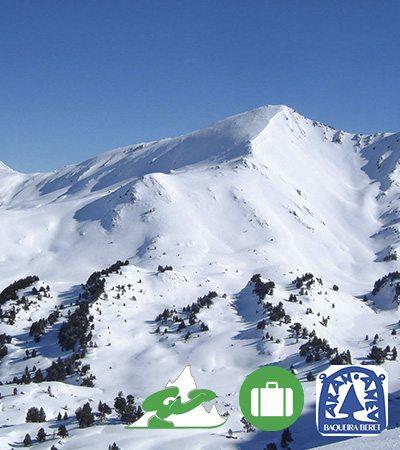 Viajes de esquí a Baqueira ofertas ski snowboard Grupo Joven