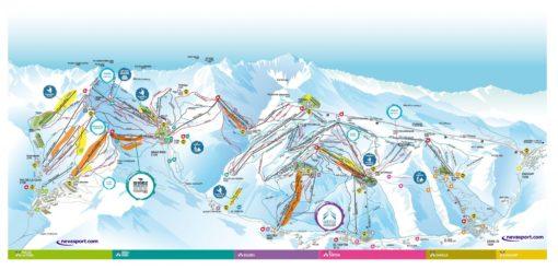 VIAJES DE ESQUÍ A GRAND VALIRA | Ofertas de viajes de esquí a Andorra MAPA