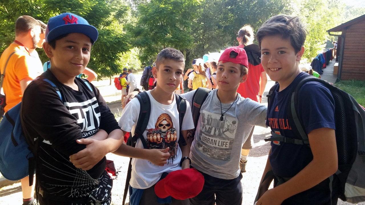 Campamento de verano Multiaventura para jóvenes en España León con ingles actividades bilingüe