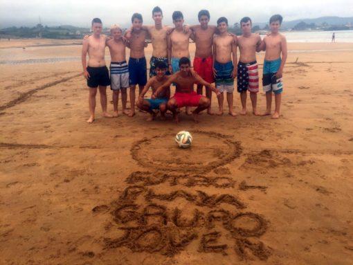 Campus de fútbol para niños y adolescentes en España León playa