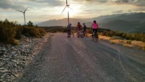 Campamentos de verano bicicleta montaña en Castilla y León España jóvenes Pobladura de Las Regueras_El_Bierzo