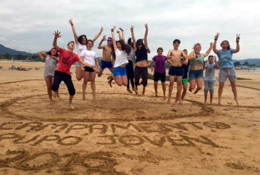 Campamentos de verano para jóvenes en España León con playa niños adolescentes