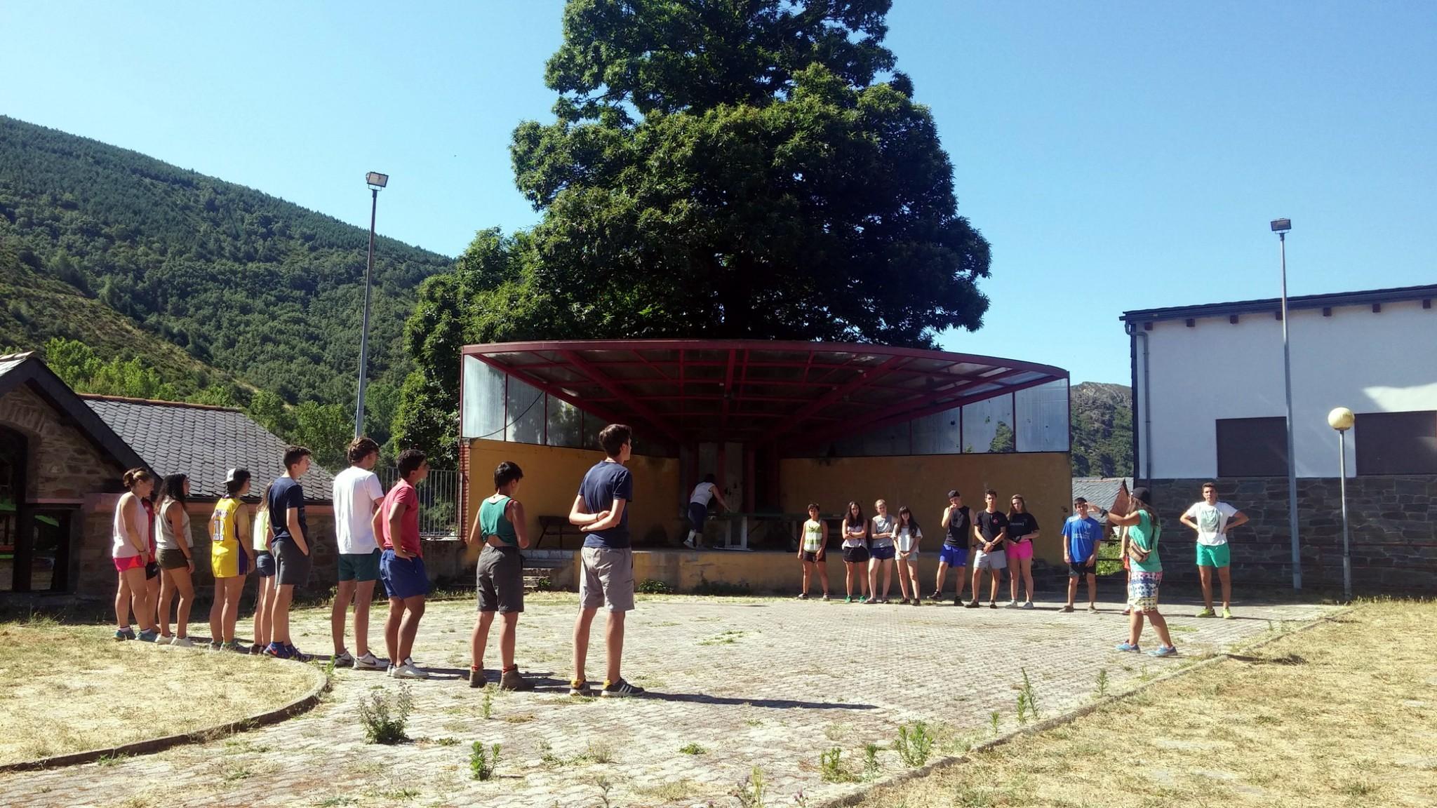 Campamentos de verano en España León teatro