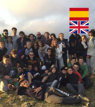 Campamento de Verano con Inglés para jóvenes en España Navarra multiaventura montaña y agua jóvenes