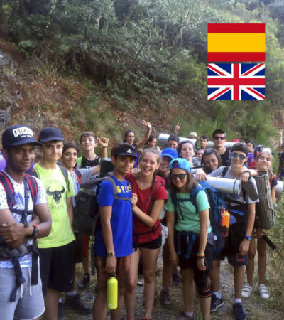 Campamento de Verano con Inglés para jóvenes en España León Multiaventura Montaña y Deporte