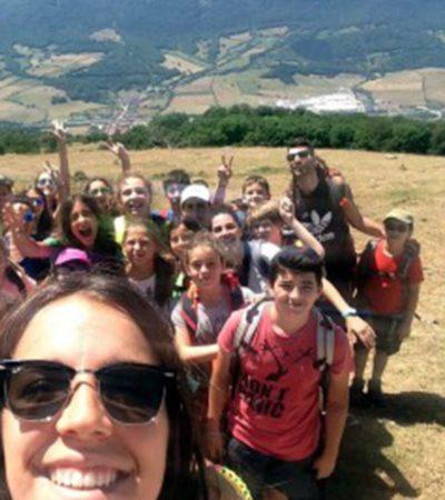 Campamento de Verano Multiaventura para niños en España Navarra multiaventura montaña y agua niños