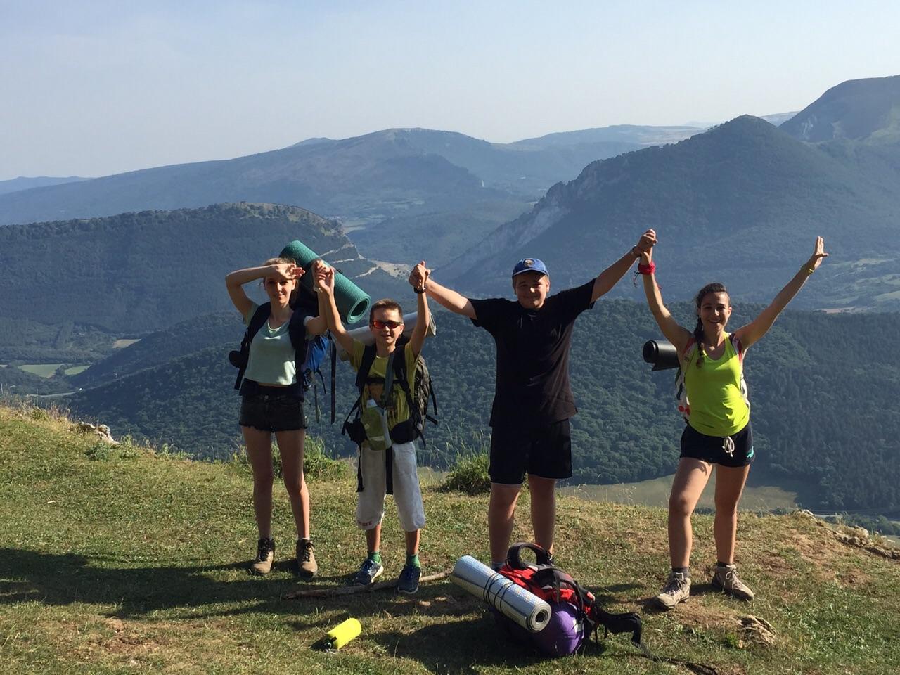 Campamentos de Verano con inglés en España Navarra niños jóvenes Grupo Joven