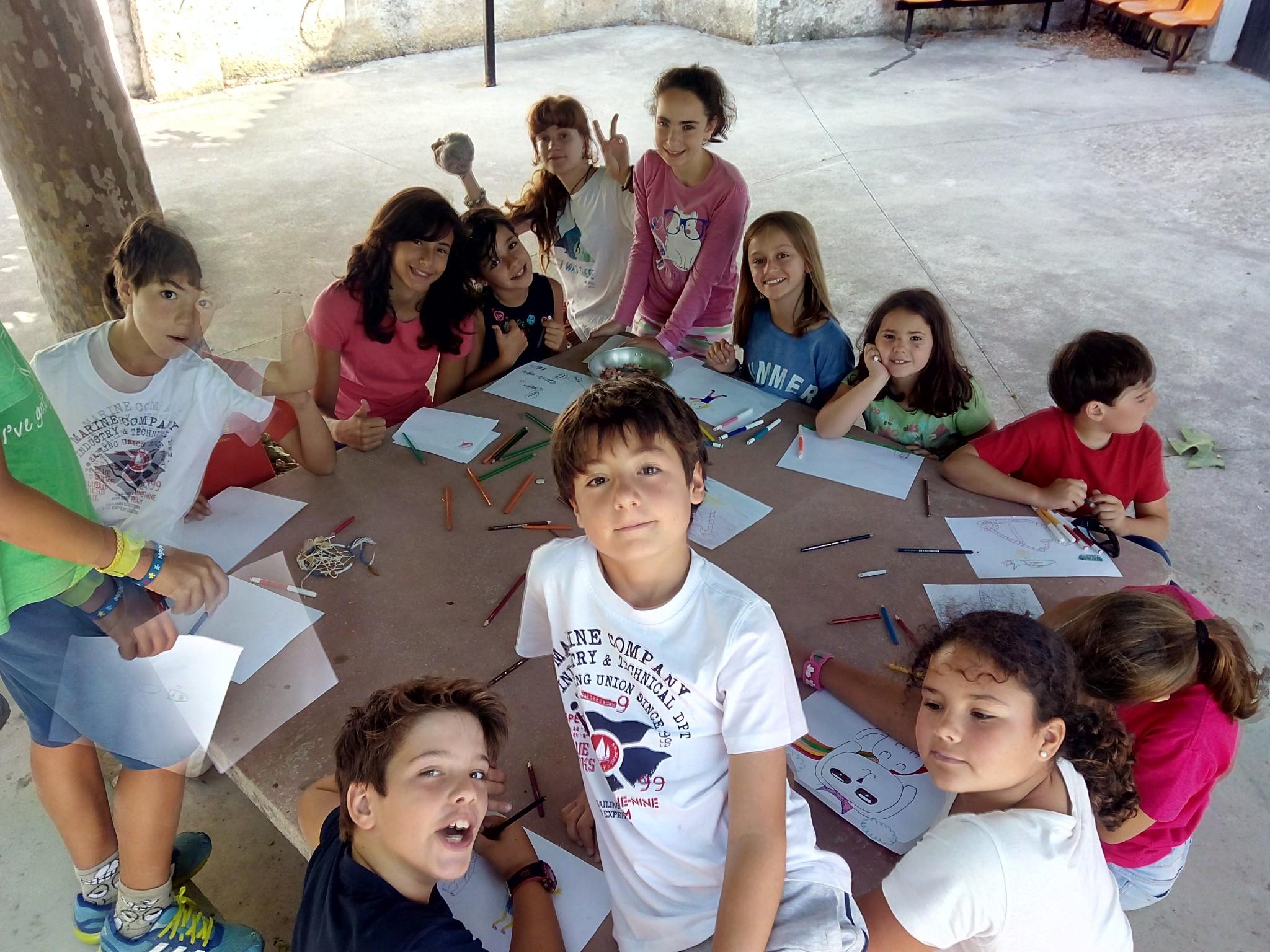Campamentos de verano en España Navarra niños Talleres