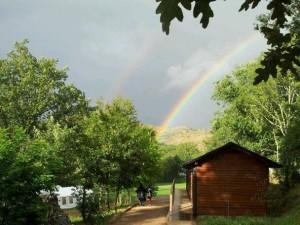 Campamentos de verano en España León instalaciones entrada