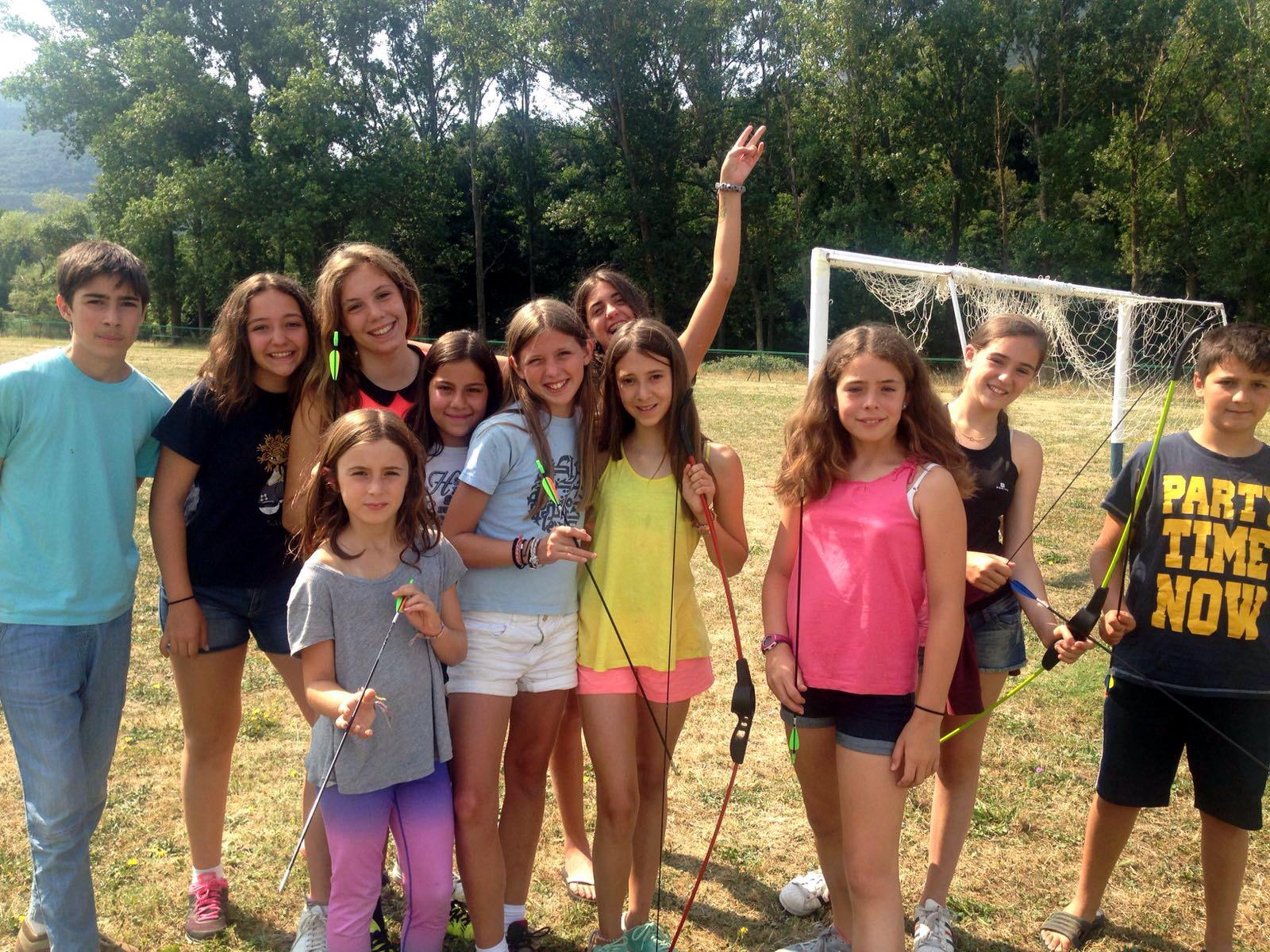 campamentos de verano en españa niños actividades