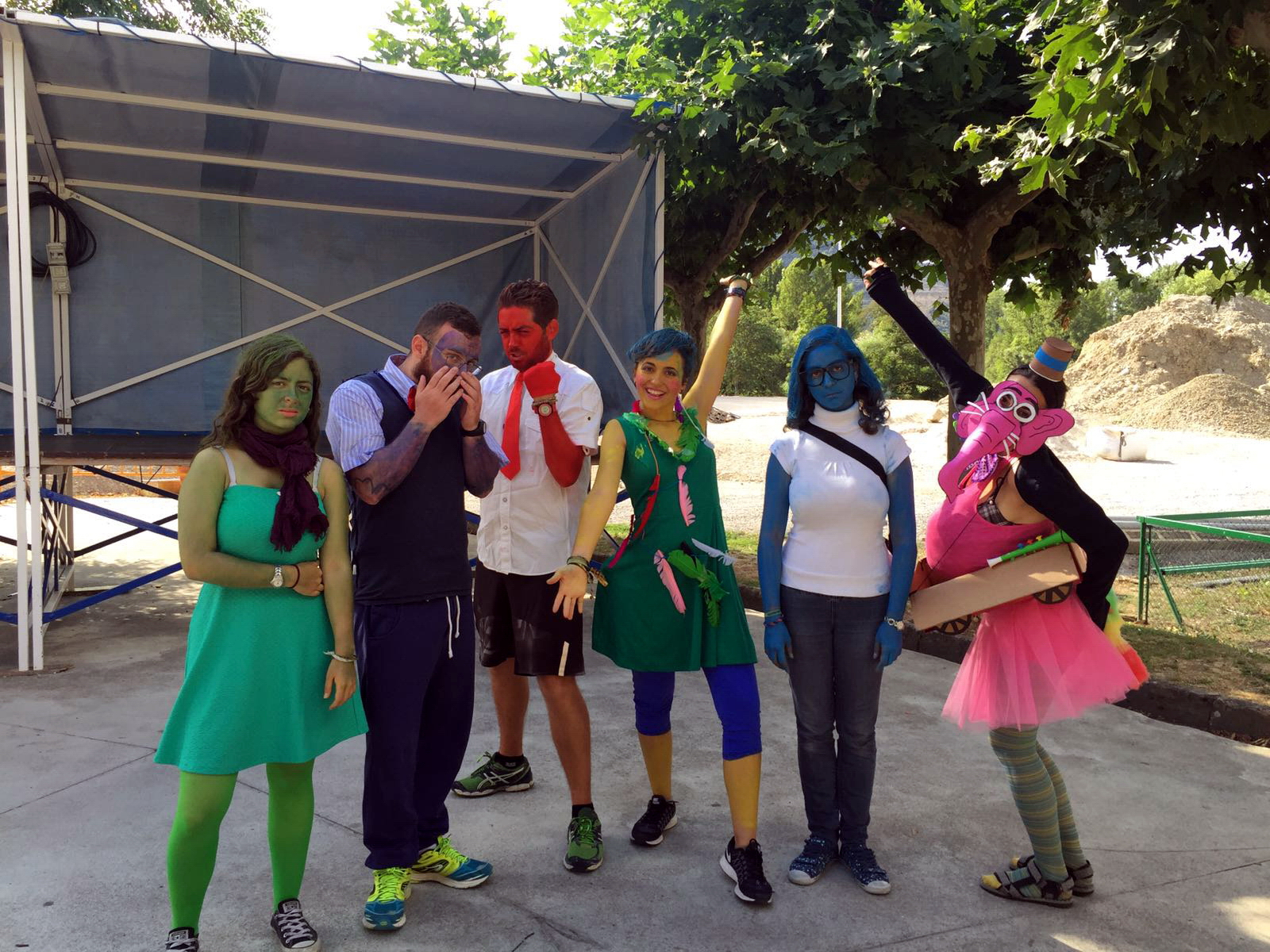 Campamentos de verano en Navarra niños Actividades disfraces