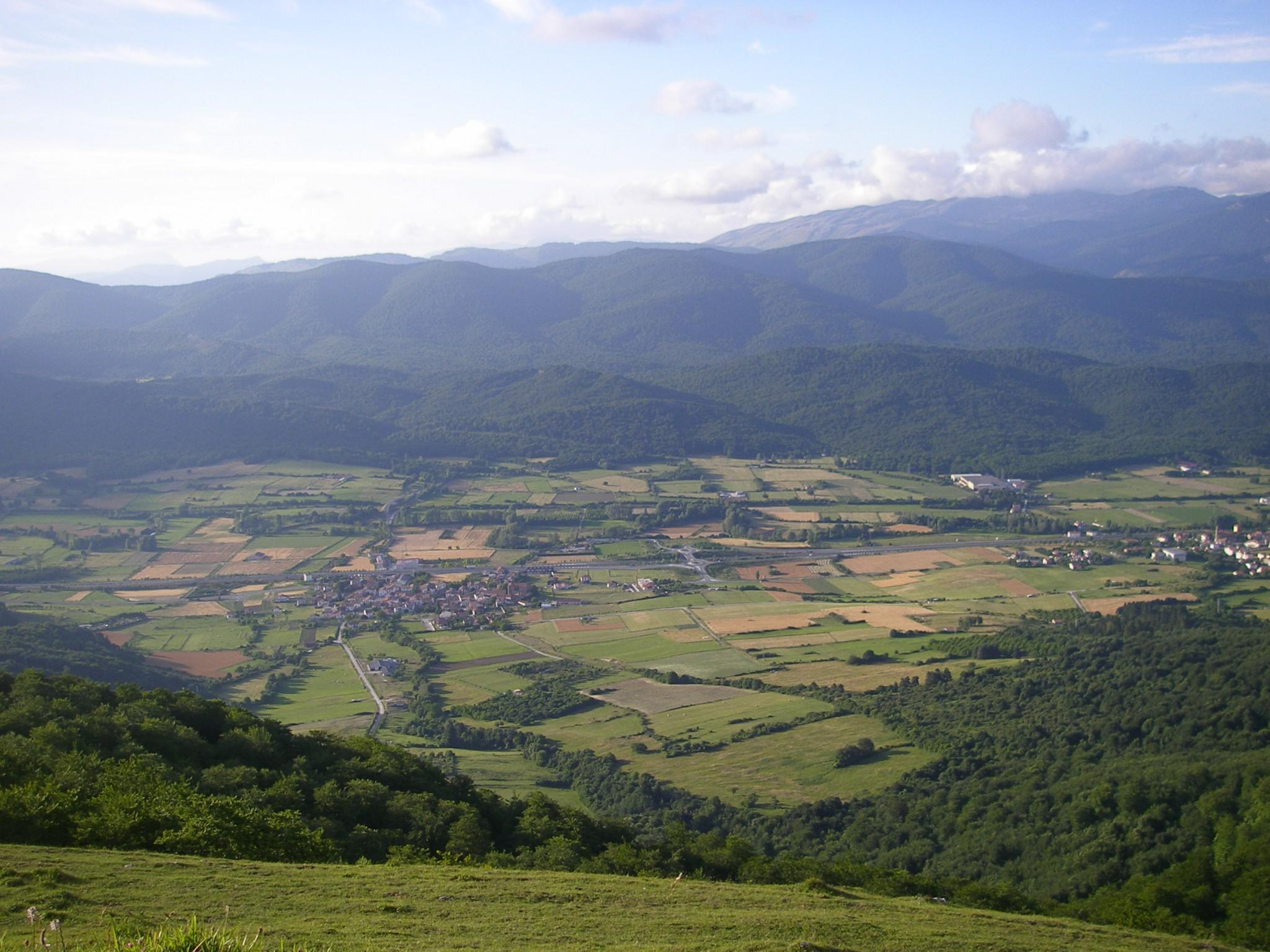 Campamentos de verano en Navarra entorno grupo joven