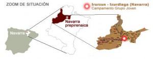 Situación Campamento Navarra