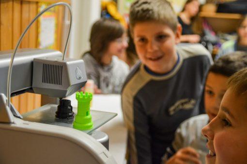 Campamento de tecnología para jóvenes en España Leon Impresión 3D