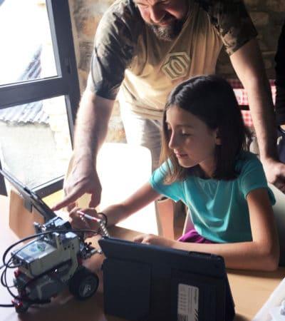 Campamento de tecnología y Multiaventura en España Leon ciencia robótica multiaventura y agua