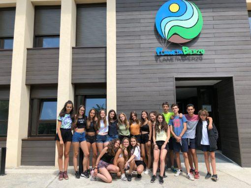 Campamento de verano en España en albergue con habitación