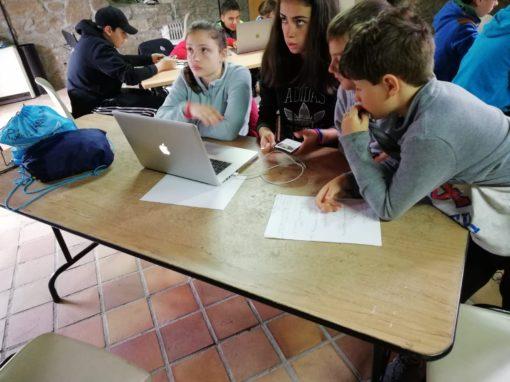 Campamento de verano con tecnología aprenden a programar jugando