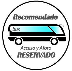 Transporte en autobús recomedado